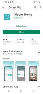 02-Xiaomi-App-oeffnen